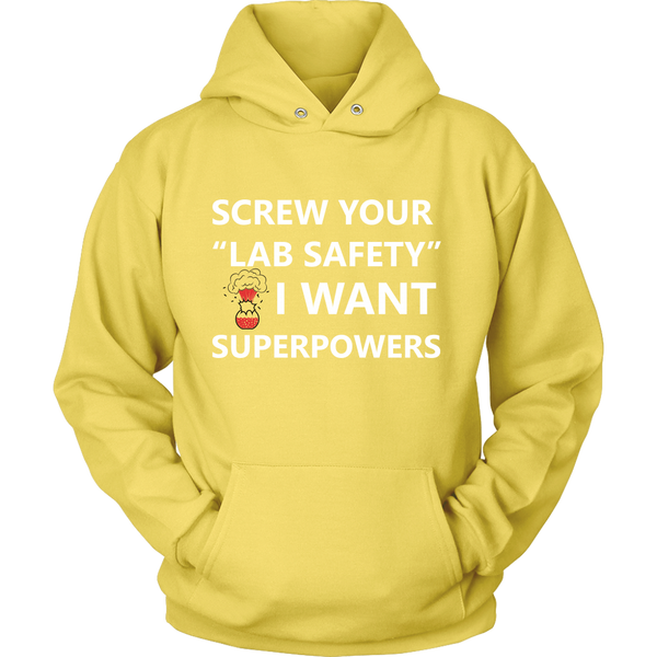GearLogic - Science Jewelry & Science Shirts | Chemistry Superpowers Hoodie