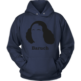 GearLogic - Science Jewelry & Science Shirts | Baruch Spinoza Silhouette Hoodie