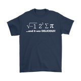GearLogic - Science Jewelry & Science Shirts | I Ate Some Pie Math T-Shirt