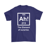 GearLogic - Science Jewelry & Science Shirts | Element of Surprise T-Shirt