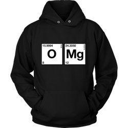 GearLogic - Science Jewelry & Science Shirts | Chemistry OMG Hoodie