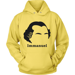 GearLogic - Science Jewelry & Science Shirts | Immanuel Kant Silhouette Hoodie