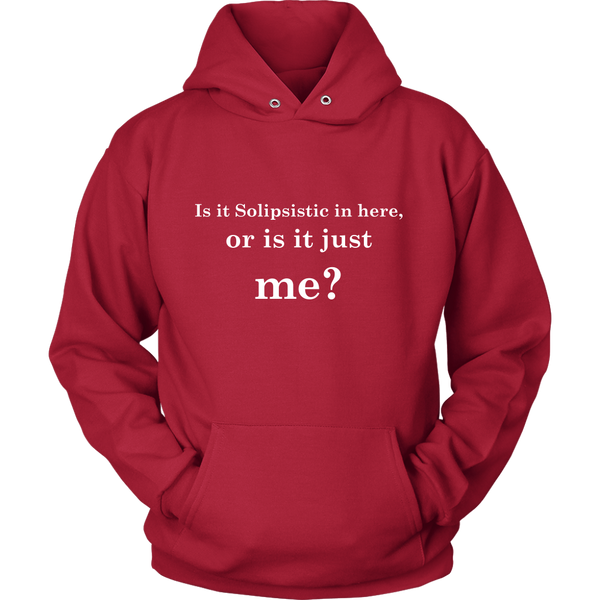 GearLogic - Science Jewelry & Science Shirts | Solipsism Hoodie