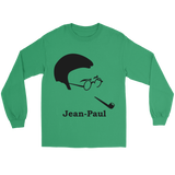 GearLogic - Science Jewelry & Science Shirts | Jean-Paul Sartre Silhouette Long Tee