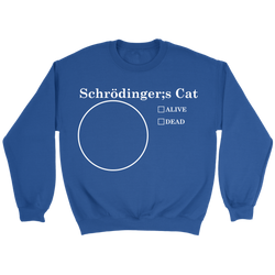 GearLogic - Science Jewelry & Science Shirts | Schrodinger's Pie Chart Sweatshirt