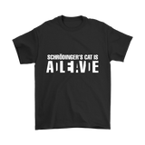 GearLogic - Science Jewelry & Science Shirts | Schrodinger's Cat T-Shirt