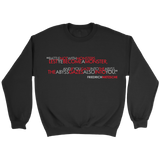 GearLogic - Science Jewelry & Science Shirts | Nietzsche The Abyss Stares Back Sweatshirt