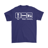 GearLogic - Science Jewelry & Science Shirts | Eat Sleep Chemistry T-Shirt