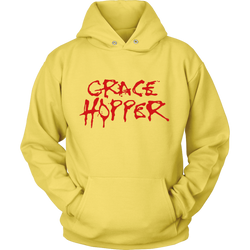 GearLogic - Science Jewelry & Science Shirts | Grace Hopper Alice Cooper Hoodie