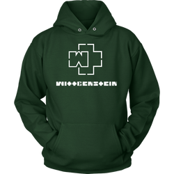 GearLogic - Science Jewelry & Science Shirts | Ludwig Wittgenstein Rammstein Logo Hoodie