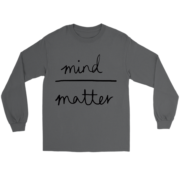 GearLogic - Science Jewelry & Science Shirts | Mind over Matter Long Tee