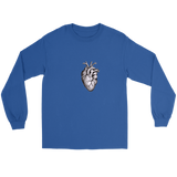 GearLogic - Science Jewelry & Science Shirts | Anatomically Accurate Heart Long Tee