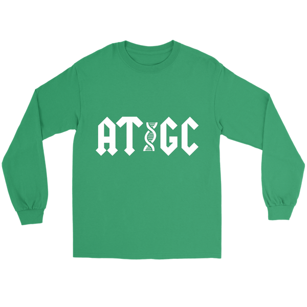 GearLogic - Science Jewelry & Science Shirts | ACDC ATGC Long Tee