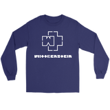 GearLogic - Science Jewelry & Science Shirts | Ludwig Wittgenstein Rammstein Logo Long Tee