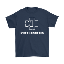GearLogic - Science Jewelry & Science Shirts | Ludwig Wittgenstein Rammstein Logo T-Shirt