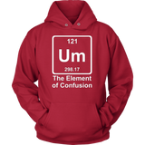 GearLogic - Science Jewelry & Science Shirts | Element of Confusion Hoodie