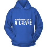 GearLogic - Science Jewelry & Science Shirts | Schrodinger's Cat Hoodie