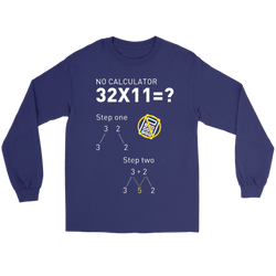 GearLogic - Science Jewelry & Science Shirts | multiply by 11 Long Tee