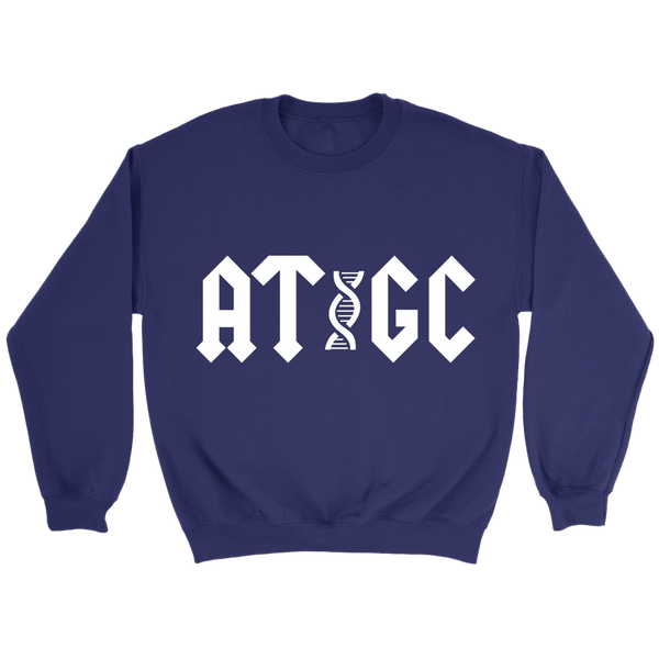 GearLogic - Science Jewelry & Science Shirts | ACDC ATGC Sweatshirt