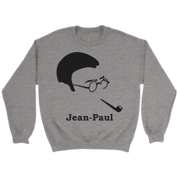 GearLogic - Science Jewelry & Science Shirts | Jean-Paul Sartre Silhouette Sweatshirt