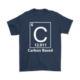 GearLogic - Science Jewelry & Science Shirts | Carbon Based Life T-Shirt