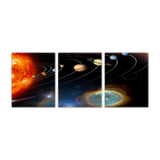 GearLogic - Science Jewelry & Science Shirts | Solar System 3-Piece Panoramic Poster