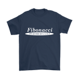 GearLogic - Science Jewelry & Science Shirts | Fibonacci is Easy T-Shirt