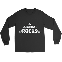 GearLogic - Science Jewelry & Science Shirts | Geology Rocks Long Tee