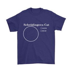 GearLogic - Science Jewelry & Science Shirts | Schrodinger's Pie Chart T-Shirt