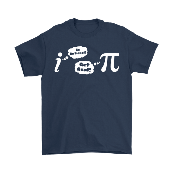GearLogic - Science Jewelry & Science Shirts | Be Rational, Get Real T-Shirt