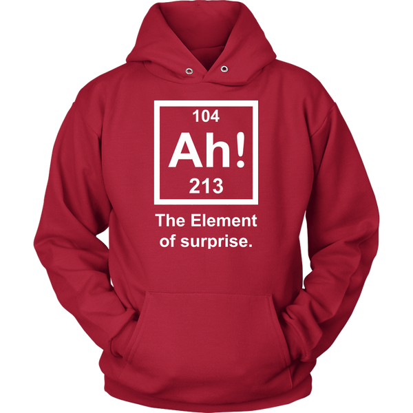 GearLogic - Science Jewelry & Science Shirts | Element of Surprise Hoodie