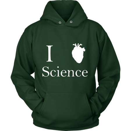 I ♥ Biology Science Long Tee