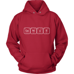 GearLogic - Science Jewelry & Science Shirts | Periodic Genius Hoodie