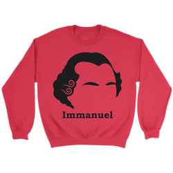 GearLogic - Science Jewelry & Science Shirts | Immanuel Kant Silhouette Sweatshirt