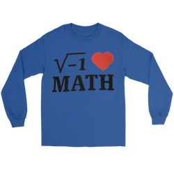 GearLogic - Science Jewelry & Science Shirts | i ♥ Math Long Tee