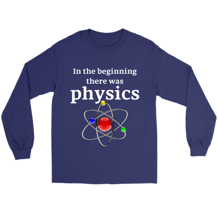 Socrates A Lovely Little Thinker Science Long Tee