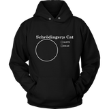 GearLogic - Science Jewelry & Science Shirts | Schrodinger's Pie Chart Hoodie