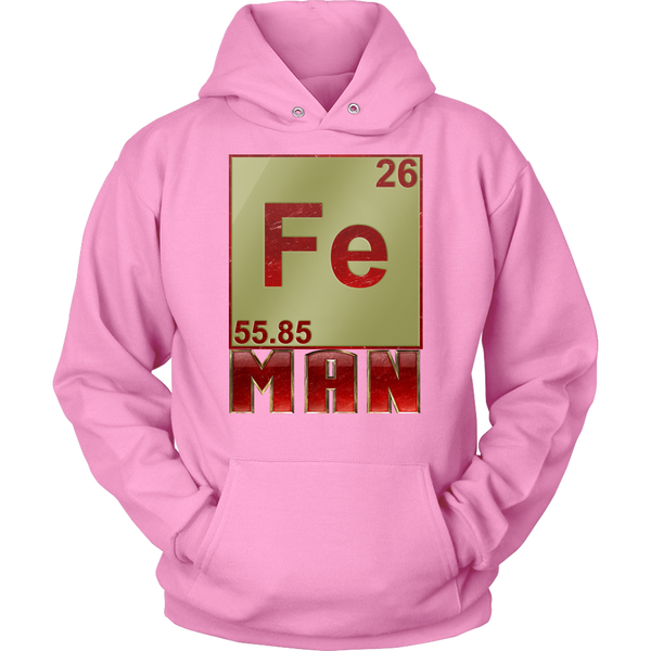 GearLogic - Science Jewelry & Science Shirts | Periodic Iron Man Hoodies