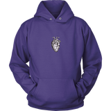 GearLogic - Science Jewelry & Science Shirts | Anatomically Accurate Heart Hoodie