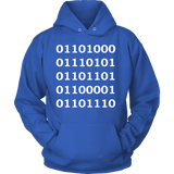 GearLogic - Science Jewelry & Science Shirts | Binary Human Hoodie
