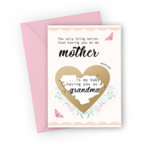 Butterfly Grandma Scratch Card