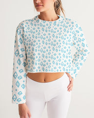 Image of HESKJE Cropped Sweatshirt