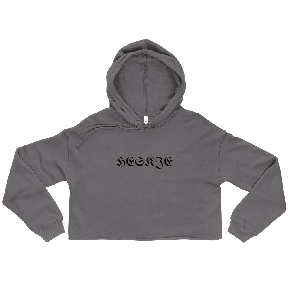 OLD ENGLISH Crop Hoodie