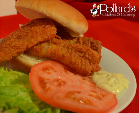 Fried Fish Filet Sandwich