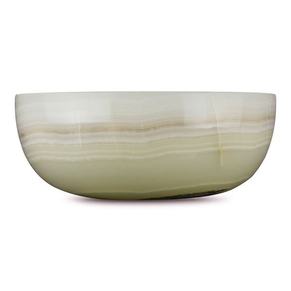 Vanilla Onyx - Dome Vessel Sink