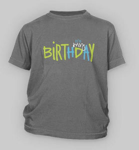 Its My Birthday Personalized Toddler Shirt Bubblegum Betties Boutique