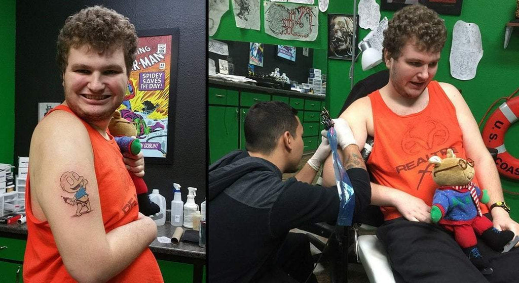 23-year-old man with autism gets long-awaited tattoo after multiple shops turn him away
