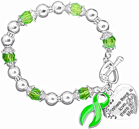 """Where There is Love..."" Cerebral Palsy Awareness Bracelet"