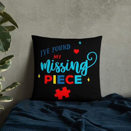I've Found My Missing Piece Autism Awareness Pillow The Awareness Expo Autism