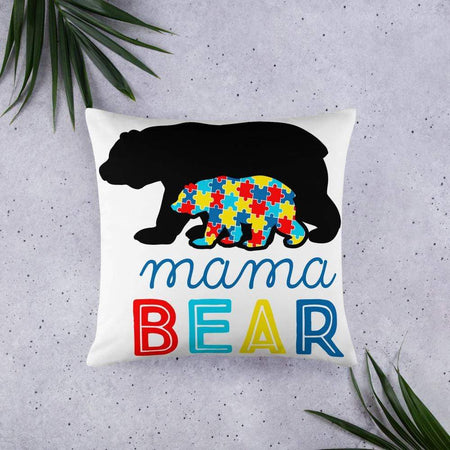 Momma Bear Autism Awareness Pillow The Awareness Expo Autism